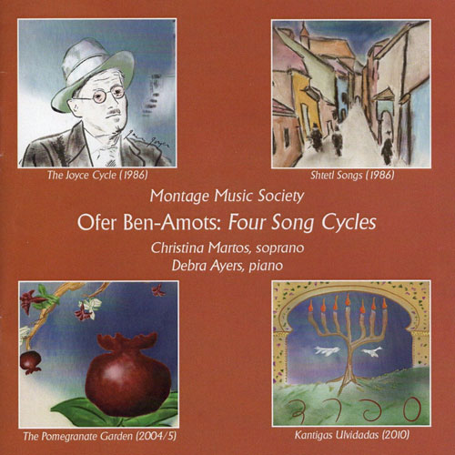 Ben-Amots Four Song Cycles