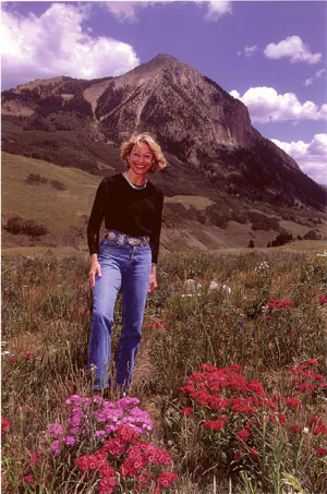 Debra Ayers in Crested Butte